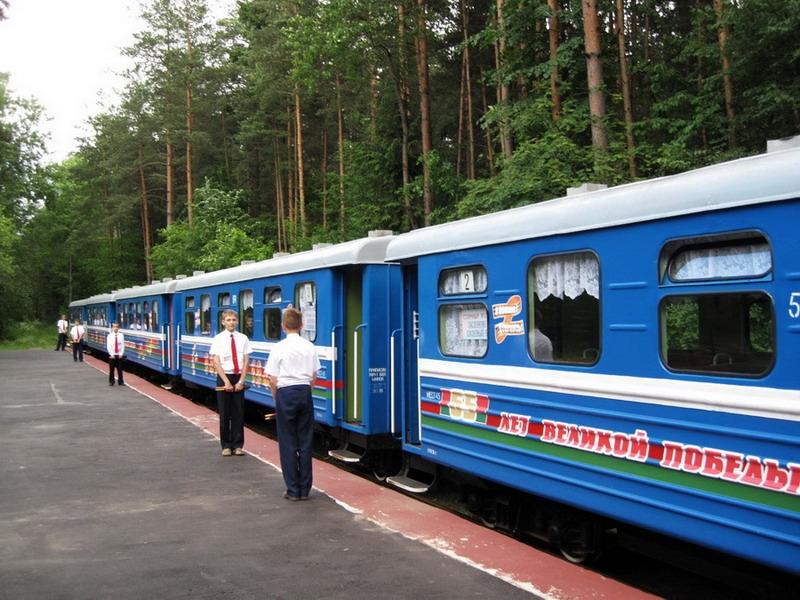 Детская железная дорога Минска открывает сезон