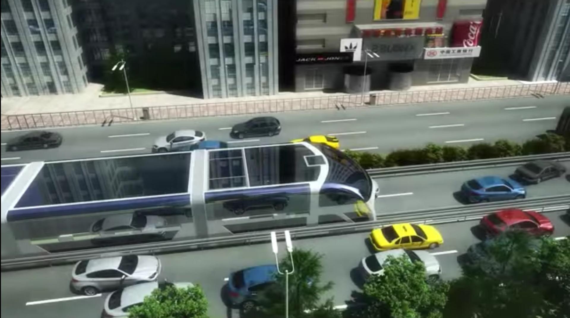 На выставке в Пекине представили автобус будущего