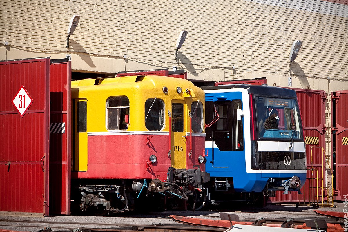 Новые подвижные составы для петербургского метро