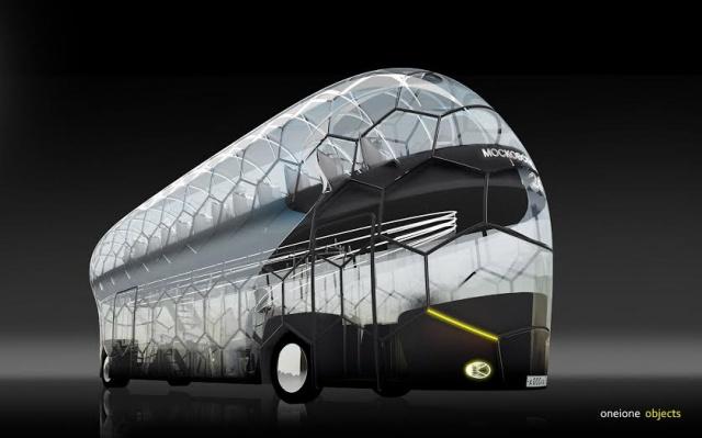 Автобус-мяч разработали к Чемпионату мира-2018