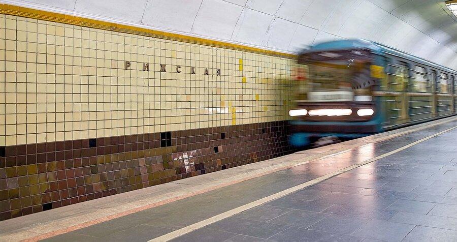 расположение станция метро рижская вестибюль картинки связи этим